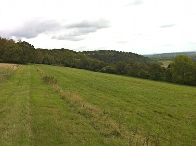 Lady Hill, looking south-east